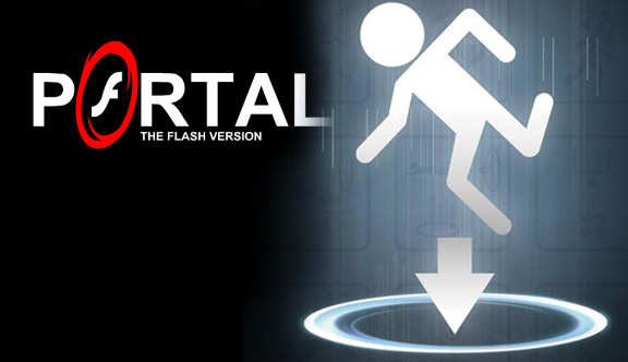 portal game flash